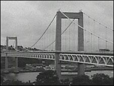 Tamar Road Bridge, 1961