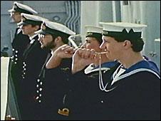 Falklands return