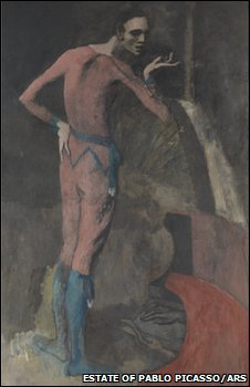 Pablo Picasso's The Actor, Estate of Pablo Picasso/Artists Rights Society (ARS), New York
