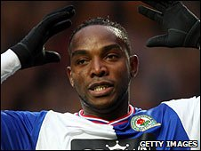 Blackburn and South Africa striker Benni McCarthy