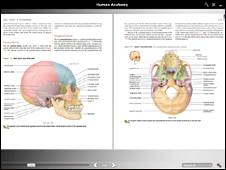 text book page of anatomy journal