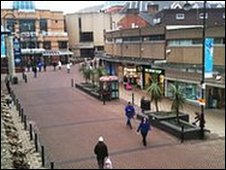 Barnsley town centre