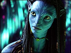 Zoe Saldana's character in Avatar
