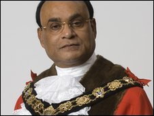 Camden Mayor Omar Faruque Ansari was arrested on suspicion of benefit fraud