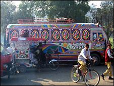 Lahore street scene