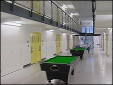 Inside of Addiewell prison