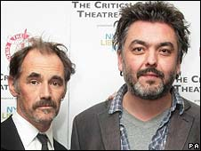 Mark Rylance and Jez Butterworth