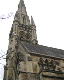 Spire at All Souls