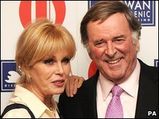 Joanne Lumley and Terry Wogan