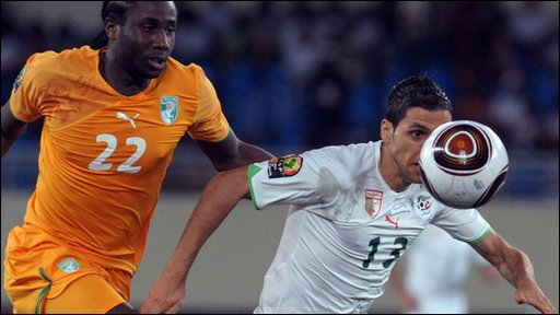 Ivory Coast 2-3 Algeria 3 (AET)