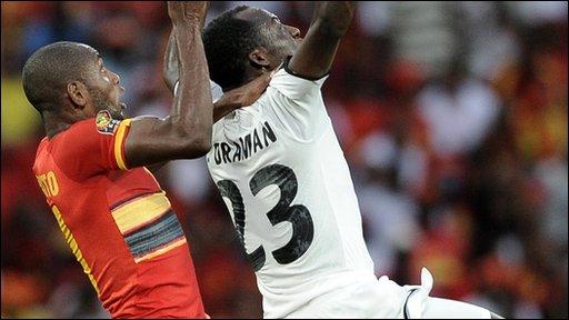 Angola 0-1 Ghana