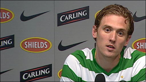 Celtic striker Morten Rasmussen