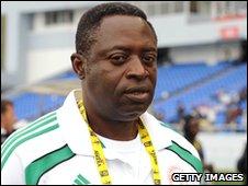 Nigeria coach Shaibu Amodu