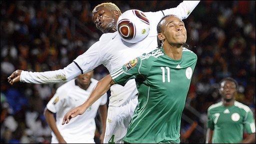 Zambia 0-0 Nigeria (4-5 pens)