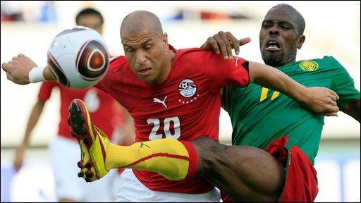Egypt 3-1 Cameroon (AET)