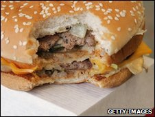 File pic of Big Mac hamburger