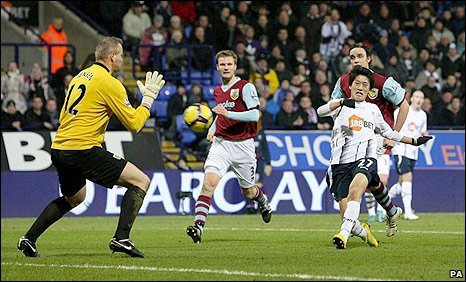 Chung-Yong Lee fires in the first goal