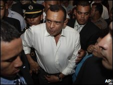 Honduran President-elect Porfirio Lobo