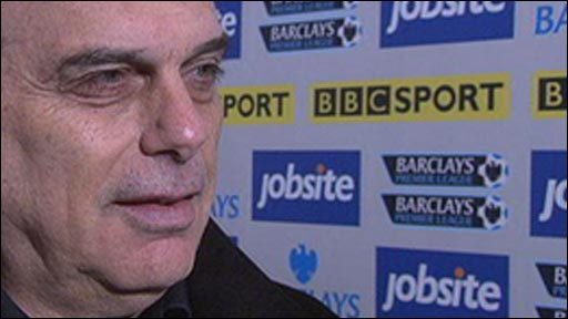 Portsmouth boss Avram Grant