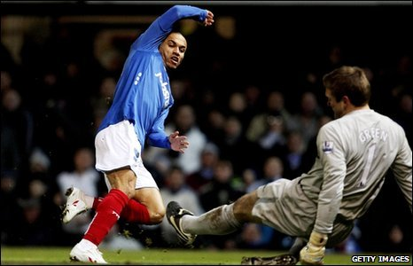 Danny Webber equalises for Portsmouth