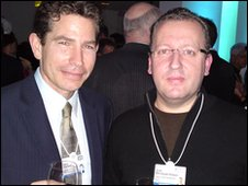Dr Joel Selanikio (L) and Jock Mendoza-Wilson
