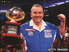 PDC world darts champion Phil Taylor