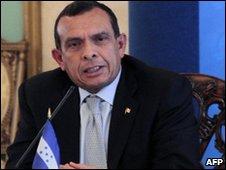 Honduras president-elect Porfiro Lobo
