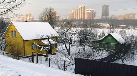 Houses in Rechnik, Moscow