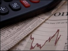 Calculator and Financial Times