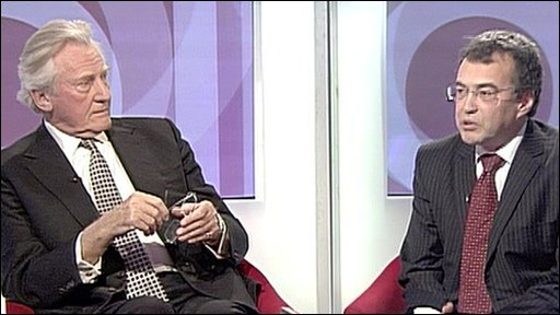 Lord Heseltine and Phil Woolas