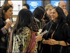 Davos delegates