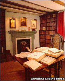 Laurence Sterne's study, Shandy Hall