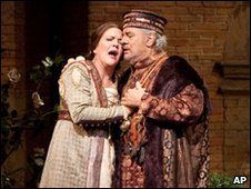Placido Domingo performs the title role in Verdi's Simon Boccanegra