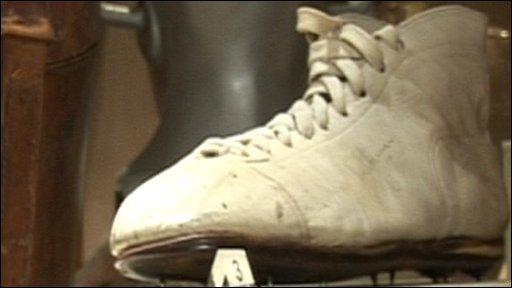 Joel Garner's boot