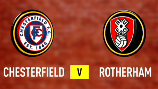 Chesterfield 0-1 Rotherham