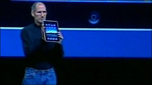 Steve Jobs and the iPad