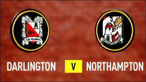 Darlington 1-2 Northampton