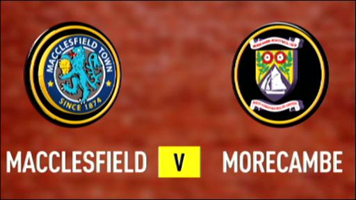 Macclesfield 2-2 Morecombe