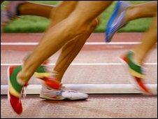 Athletes running (SPL)