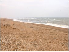 Dungeness shingle