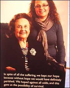 Lilly Ebert and her granddaughter Nina