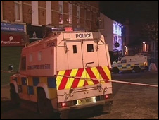 Scene of Derry shooting