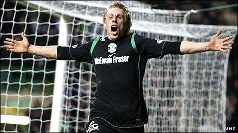 Hibs' match-winner Danny Galbraith