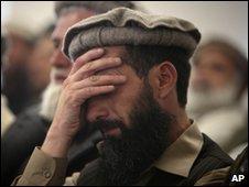 An Afghan man