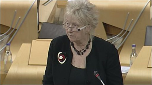 SNP MSP Christine Grahame led the debate