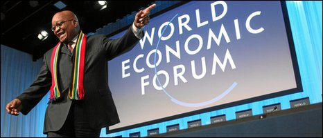 Jacob Zuma at World Economic Forum, Davos