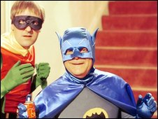 Del Boy and Rodney as Batman and Robin