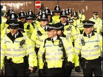 West Yorkshire Police officers