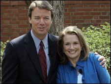 John and Elizabeth Edwards in 2007