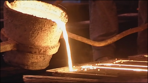 Making iron pots
